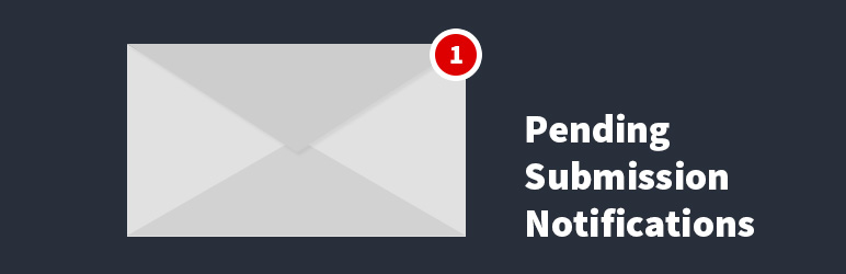 email notification for pending wordpress submissions